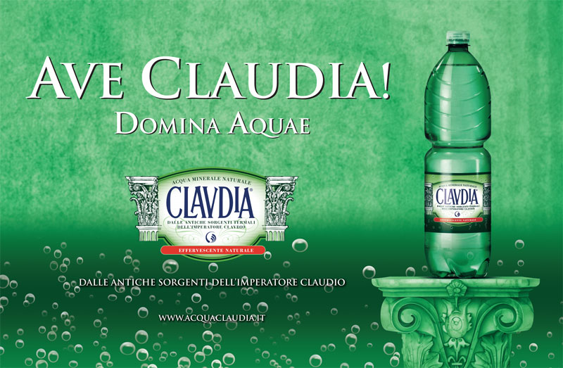 Advertising-pubblilevel-Acqua-Claudia
